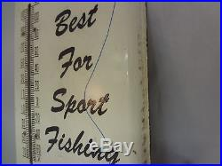 Vintage Penn Reels Thermometer 929-w