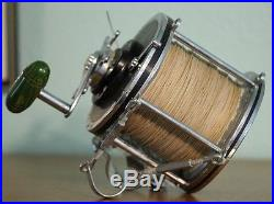 Vintage Penn Senator 116 Fishing Reel Made USA