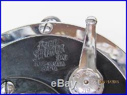 Vintage Penn Senator 9/0 Big Game Salt Water Reel, Rod Brace, Nice