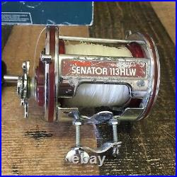 VINTAGE Penn Senator II 4/0 Special 113HLW With Box (b1)