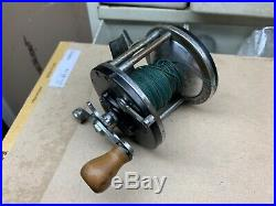 VINTAGE RARE PENN LONG BEACH FISHING REEL CLEAN SCARCE 250 350 67 62 saltwater