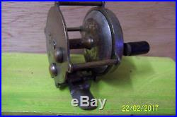 VINTAGE THE PENNELL TRADE MARK FISHING REEL 1920'S Penn. WORKS GREAT