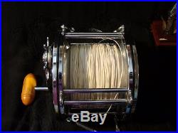Vtg Clean USA Penn Senator 14/0 Saltwater Big Game Fishing Reel Bakelite Handle
