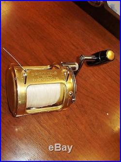 Vtg Penn International II 30tw Gold Saltwater Big Gamefish Reel Superior Cond