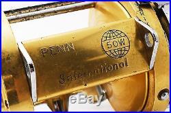 VeryGood Vintage Penn International 50W Big Game Reel from Japan #302