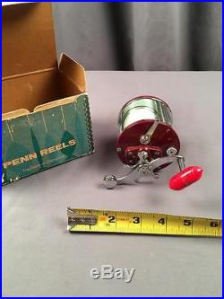 Vintage 1950's Penn Peer No 209 Deep Sea Fishing Reel With Original Box