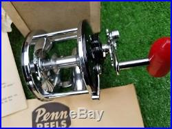 Vintage 1950s Penn Long Beach 60 Saltwater Reel withBox New Old Stock NOS