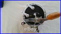 Vintage 1960's Penn Deep Sea Fishing Reel No. 49 All Original with box & manual
