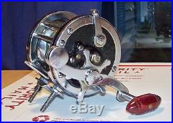 Vintage 1960's Penn Senator 1/0 Game Fish Fishing Reel Original And Beauty