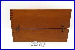 Vintage 1965 Penn International Tournament Reel Model 50 & Wooden Box