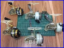 Vintage Abu Zebco Cardinal and Penn 716z spinning reel lot