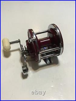 Vintage Coloramic Penn No. 27 Conventional Fishing Reel Circa 1950s Lot L8