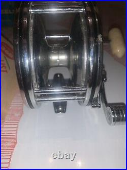 Vintage Deep Sea Reel Penn 49 Super Mariner Tested Rare WithBOX-Nice-See Pictures