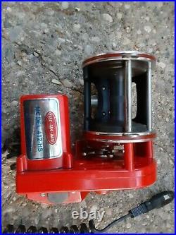 Vintage Elec-Tra-Mate 412 HS With Penn 4/0 Senator Reel, Electric Reels