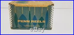 Vintage Exceptional PENN PEER NO. 109 Burgundy, Fishing Reel, Deep Sea