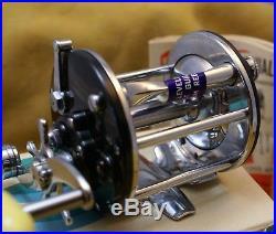 Vintage Fishing Reel PENN Reel 350M Leveline with Box Saltwater, Freshwater NOS