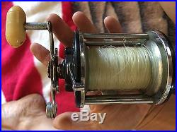 Vintage Fishing Reels Lot Penn DAM Garcia Mitchell