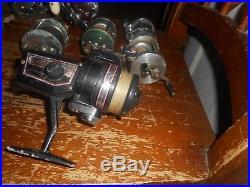 Vintage Fishing Reels, Wards, Ss, Duece, Penn Peer, Pflueger, Imperial +