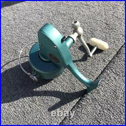 Vintage Green Penn Reel 704 Spin Fisher Spinning Reel Made In USA