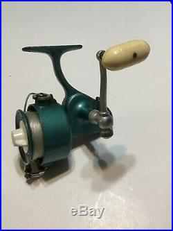 Vintage Green Penn The New 704 Spinning Reel WithOriginal Box And Manual