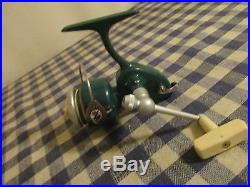 Vintage Green Penn Ultralight Reel Spinfisher 716 Made in the USA