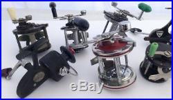 Vintage Lot Of Fishing Reels D-A-M Quick Penn Pflueger Bond Compac Hornet