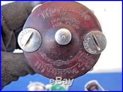 Vintage Lot of 7 Fishing Reels Ocean City Penn Marquette Pflueger