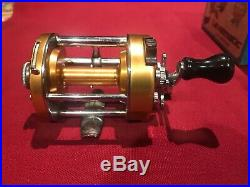 Vintage NIB PENN LEVELMATIC 930 Saltwater Baitcasting Fishing Reel COMPLETE USA