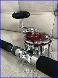 Vintage NOS Penn Senator S-3260 RF 6/0 Rod & Reel 113 H Combo Saltwater 40-60 lb