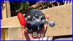 Vintage Nos Penn Delmar 285 M Fishing Reel In Box Star Drag Nos