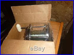 Vintage PENN 115 SENATOR 9 0 Big Fishing Reel with original box & Extras VGC