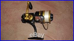 Vintage PENN 450 SS spinning reel with St Croix MH Blank Rod