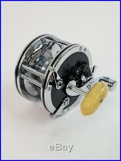 Vintage PENN 49M SUPER-MARINER Fishing Reel Original Box & Catalog 23B L@@K