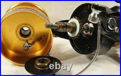 Vintage PENN 650SS Spinfisher 4.81 Hi-Speed Spinning Reel, Made in USA, CLEAN