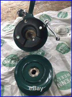 Vintage PENN 706 Bail-Less SPINFISHER Spinning Reel Greenie