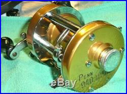 Vintage PENN 940 LEVELMATIC Fishing Reel