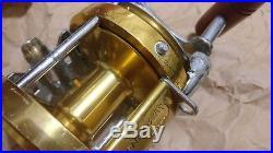 Vintage PENN INTERNATIONAL 30 BIG GAME Saltwater Fishing Reel FREE SHIPPING