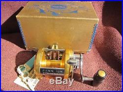 Vintage PENN International 12H Big Game Reel withbox - EXCELLENT CONDITION