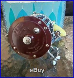 Vintage PENN JIGMASTER 500 Fishing Reel MADE IN USA Original Box