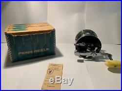 Vintage PENN Long Beach 60 Saltwater Fishing Reel Made in USA