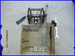 Vintage PENN Long Beach 65 Conventional Saltwater Fishing Reel