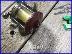 Vintage PENN NO9 FISHING REEL Model 9MF Fishing reel Made in USA NOS NIB