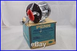 Vintage PENN Peer 209 Conventional Saltwater Fishing Reel Surf Boat Pier Jigging
