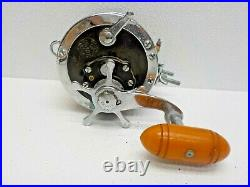 Vintage PENN SENATOR 4/0 SPECIAL 113-H Fishing Reel Made In The USA Collector
