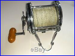 Vintage PENN SENATOR 9/0 BIG GAME Conventional Saltwater Fishing Reel USA CLEAN