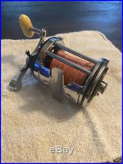 Vintage PENN SQUIDDER 140 Conventional Salt Water Fishing Reel