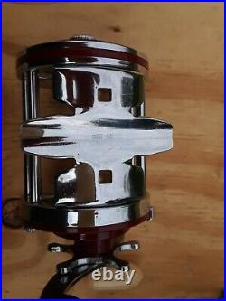 Vintage PENN SQUIDDER Red 140M REEL withOrig Box & tools & papers EUC A+++