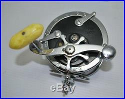 Vintage PENN SUPER MARINER No 49M in Original Box Metal Spool Game Fishing Reel