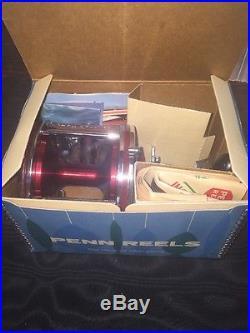 Vintage PENN Senator 114HL 6/0 Conventional Salt REEL NOS NEVER OUT OF BOX! TR