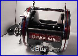 Vintage PENN Senator 114HL 6/0 Conventional Saltwater Big Game Fishing Reel